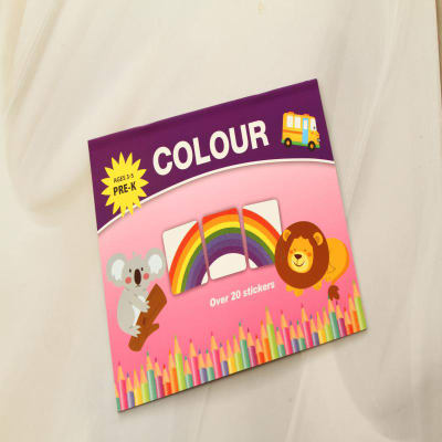 Colour Stickers for Kids