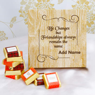 Constant Friendships Personalized 9pc Assorted Chocolate Box