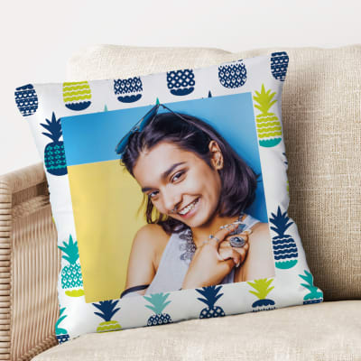 Cool Personalized Cushion with Pineapple Pattern