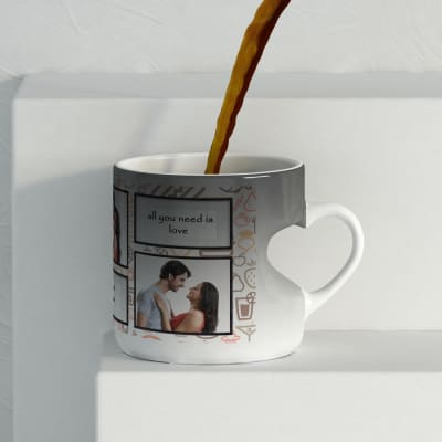 couple love personalized black magic mug gift send home and living