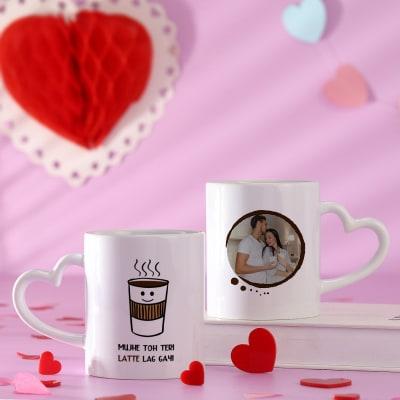 Couple Memories Personalized White Mug Set