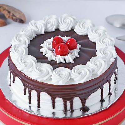 Creamy Black Forest Cake (Half Kg)