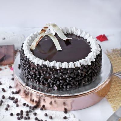 Creamy Chocolate Cake (Eggless) (2 Kg)