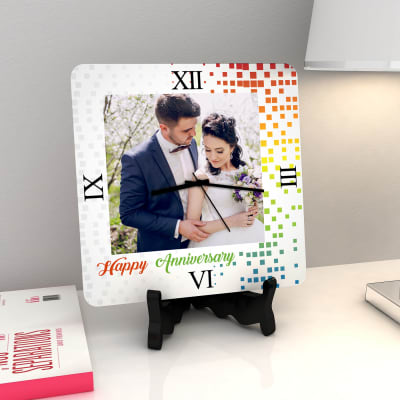 Creativity never out of style Personalized Anniversary Clock