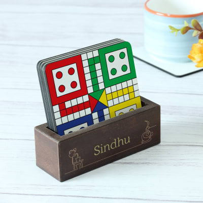 Customized Board Games Coasters - Set of 4