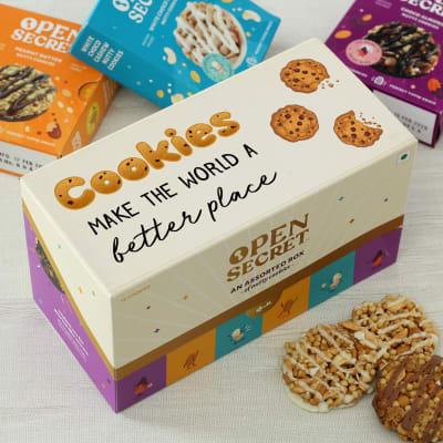 Customized Box of Cookies (12 Pcs)