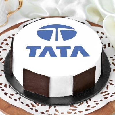 Customized Corporate Photo Cake(1 kg)