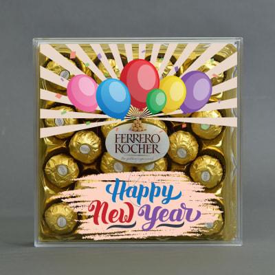 Customized New Year Special 24 Pcs. Ferrero Rocher