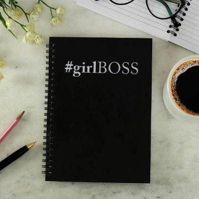 Customized Notebook Girl Boss