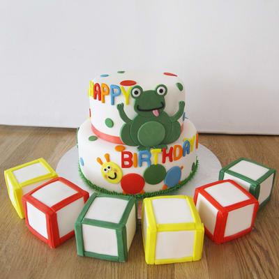 Cute 1st Birthday Cake (4 Kg)