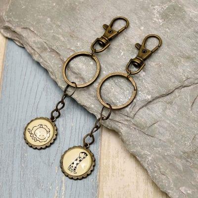 Cute Key Chain Set