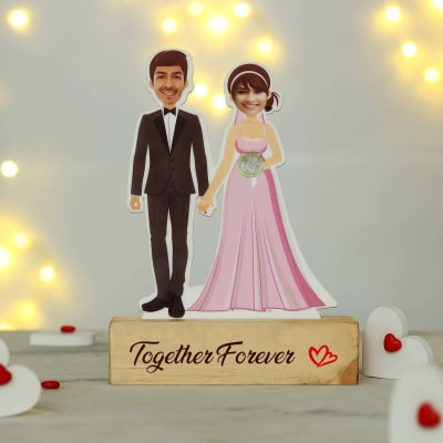 Cute Personalized Caricature for Couples