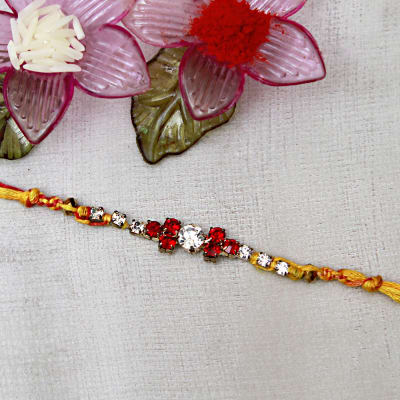 Send gifts to uk from india best gifts to london free gift cz premium stone rakhi negle Choice Image