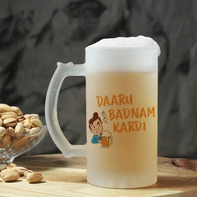 Daaru Badnam Kar Di Personalized Beer Mug