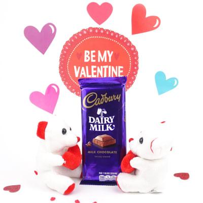 Dairy Milk Chocolate with Teddies