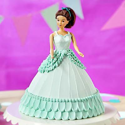Dashing Barbie Cream Cake (2 Kg)