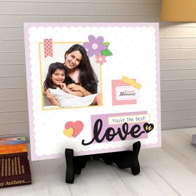 Dearest Mommy Personalized Tile