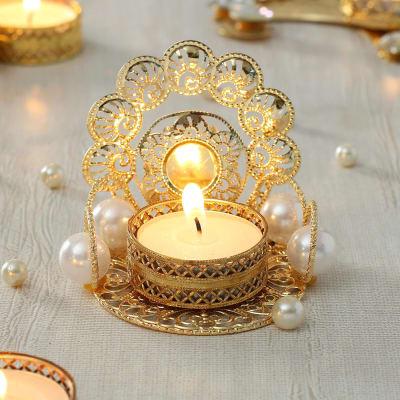 Decorative Metal Candle