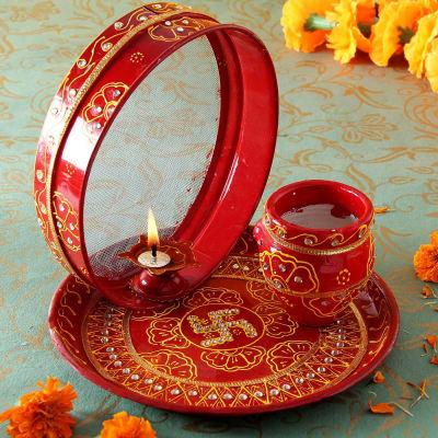 Karwa chauth thali online dating