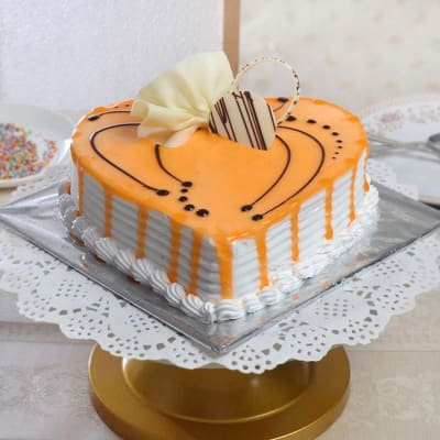 Delicious Butterscotch Cake Eggless 15 Kg