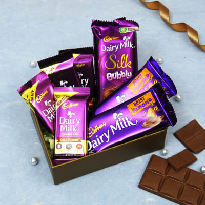 Delicious Cadbury Chocolates in Gift Box