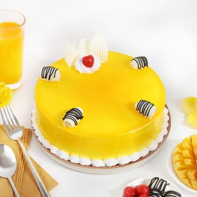 Delicious Mango Cake (Half Kg)