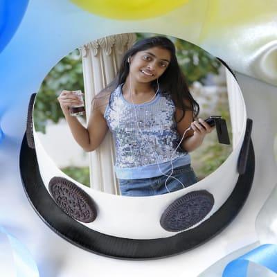Delicious Photo Cake (2 Kg)