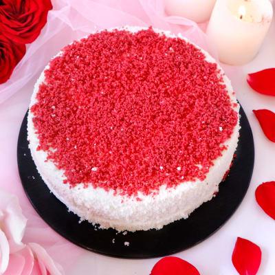 Delicious Red Velvet Cake (Half Kg)