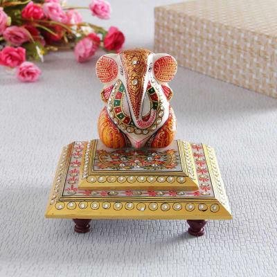 Delightful Marble Lord Ganesha