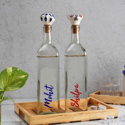 Delightful Personalized Glass Water Bottles