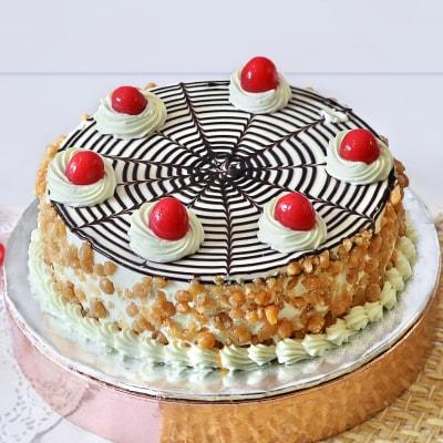 Deluxe Butterscotch Cake (Half Kg)