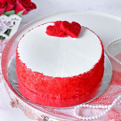 Deluxe Red Velvet Cake (Eggless) (Half Kg)
