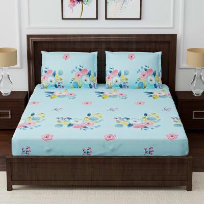 Designer Bedsheet with Bouquet Motifs