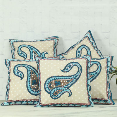 Designer Cushion Covers (Set of 5)