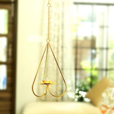 Designer Hanging Tea-Light Candle Stand
