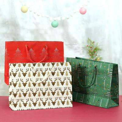 Designer Paper Gift Bags (Set of 3)