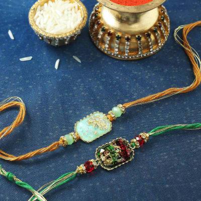 Designer Rakhi (Set of 2)