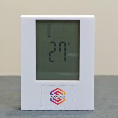 Desktop Clock with Motion Sensor - Customized with Logo