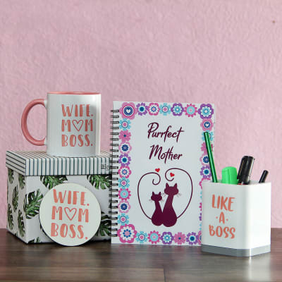 Desktop Hamper For MOM