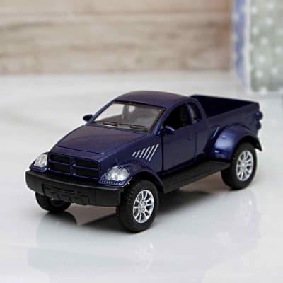 Die Cast Pull Back Series Blue Raptor Car