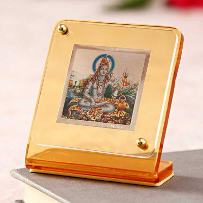 Divinity Lord Shiv Car Dashboard Stand