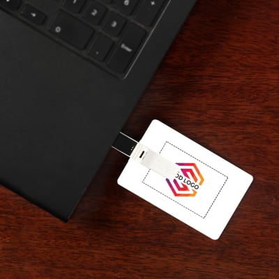 Double Sided Pendrive (16 GB) - Customized with Name Contact and Email