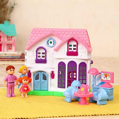 Dream House Play Set in Cute Shades