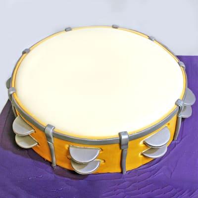 Drum Fondant Cake (3 Kg)