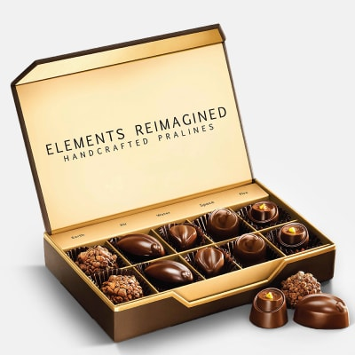 Elements Enchanted Gourmet Chocolates