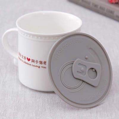 Endearing Coffee Mug Lid