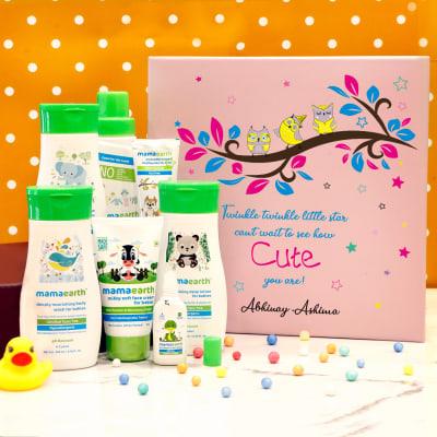 Essentials Personalized Baby Shower Hamper