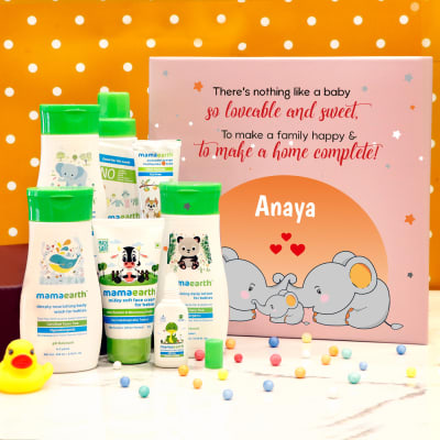 Essentials Personalized Hamper for Newborns