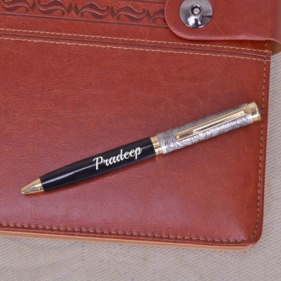 Ethenic Motifs On Personalized Ball Pen