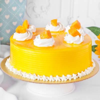 Exotic Mango Cake (Half Kg)